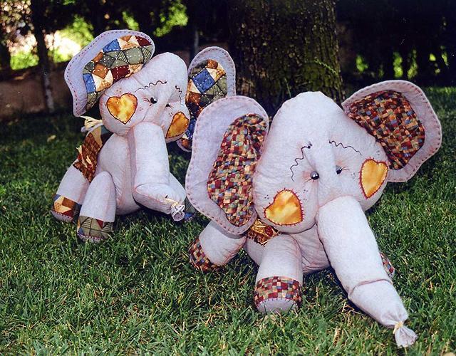 Elefantes de trapo