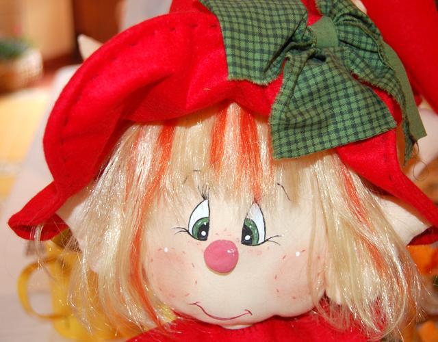 Muñeco de trapo Elfie