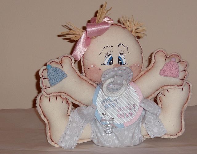 Muñeco de Bebé de trapo